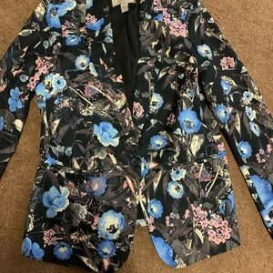 Lightweight floral jacket size small